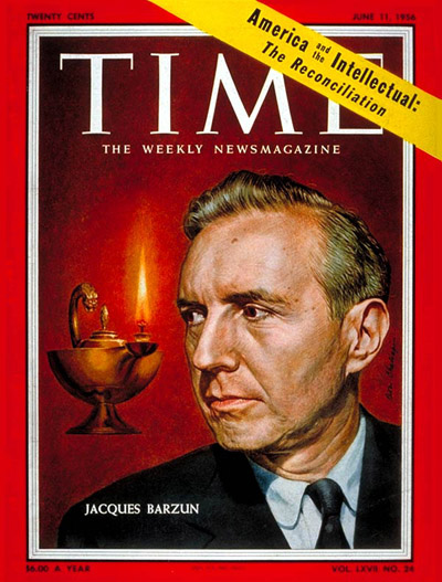TIME magaine cover featuring Jacques Barzun